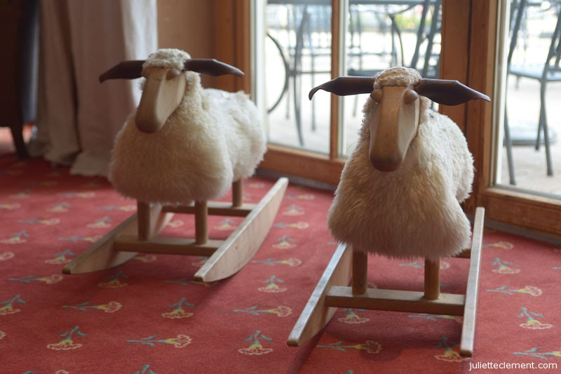 Rocking sheep.
