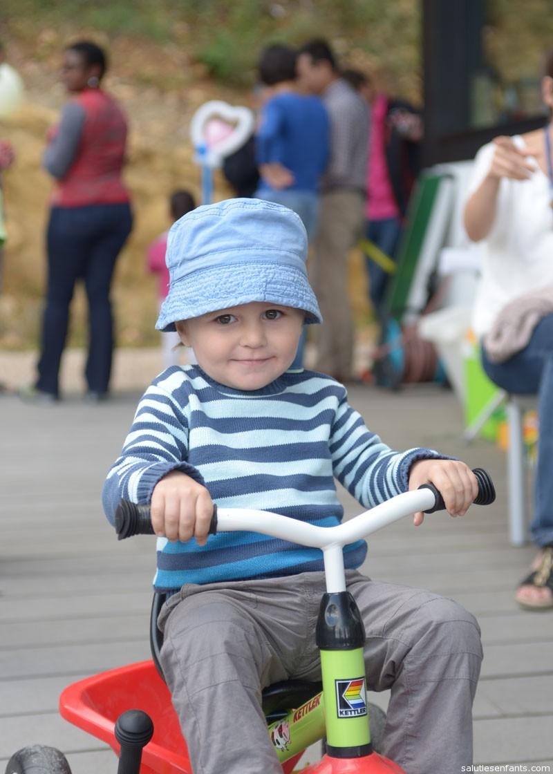 Emile, master of the trike