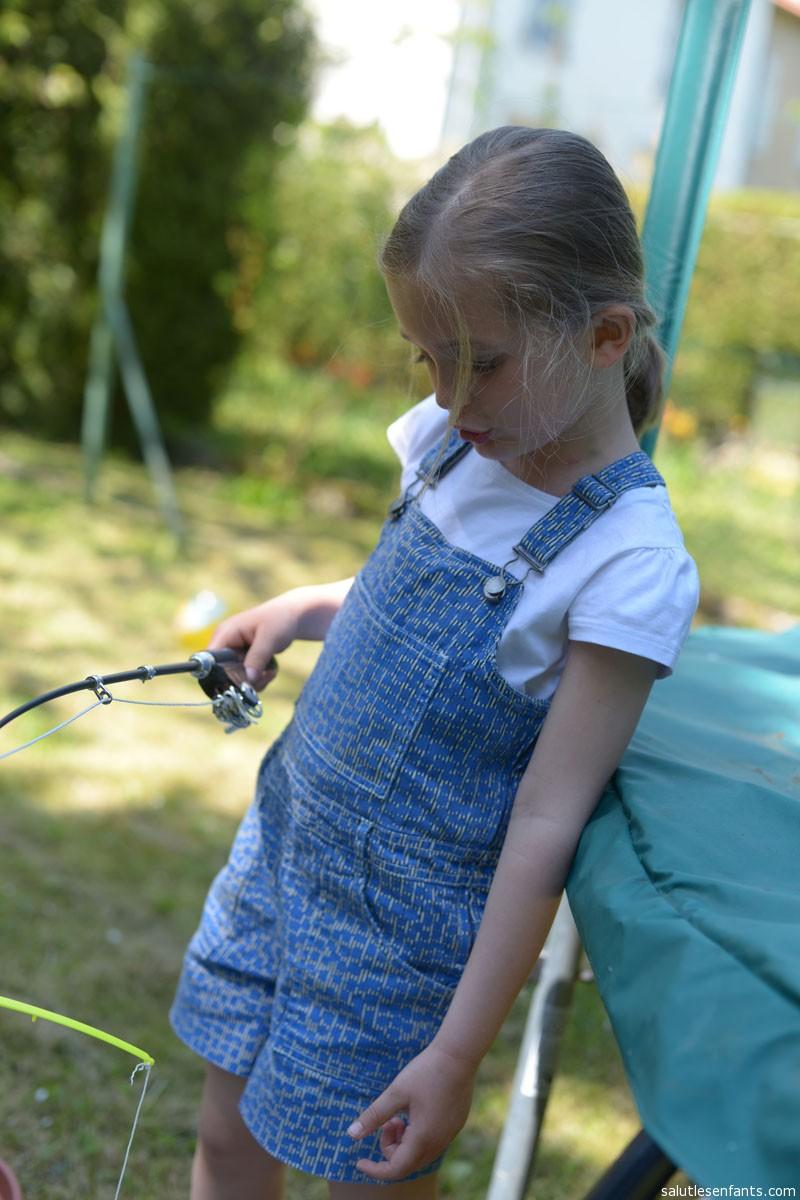 Ines goes fishing