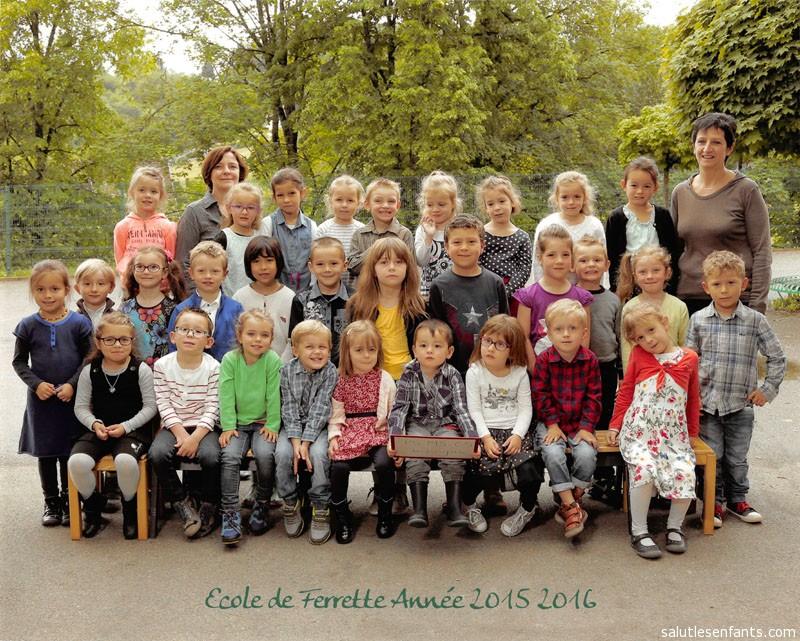 2015-2016 Class Photo