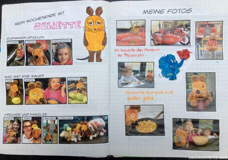 Juliette's adventures with Die Maus
